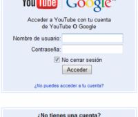 Como Iniciar sesion en YouTube