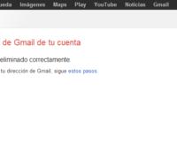Como eliminar tu correo Gmail