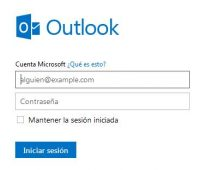 Iniciar sesion outlook sin tus datos