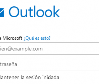 Como iniciar sesion en Outlook