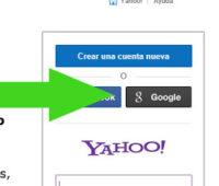 Como iniciar sesion en Yahoo con Google