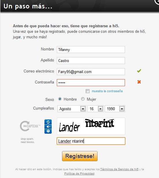 Como crear cuenta hi5 login - Como Iniciar Sesion en