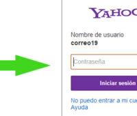Como www.yahoo.com iniciar sesion