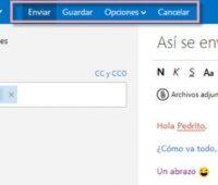 Como enviar un correo en Outlook