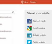 Importar contactos al correo outlook.com