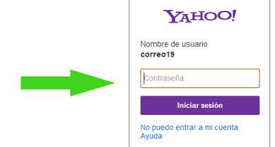 Yahoo mail iniciar sesion