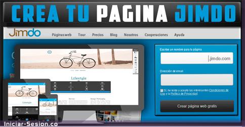 Crear un sitio web en Jimdo