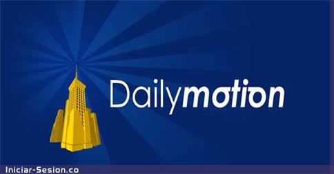 Registrarse en Dailymotion