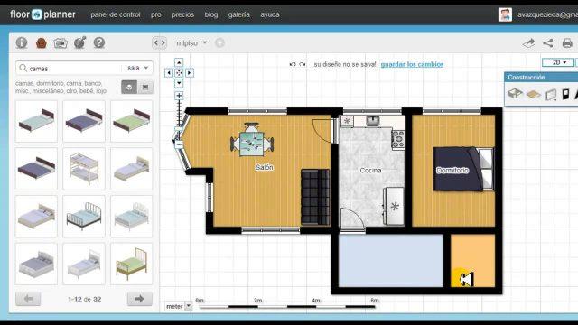 Floorplanner crea f cilmente planos de tu casa como - Crea tu casa ...