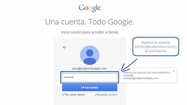 Gmail inicio sesion